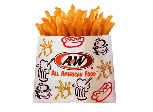 best and worst fast food french fries - a&w