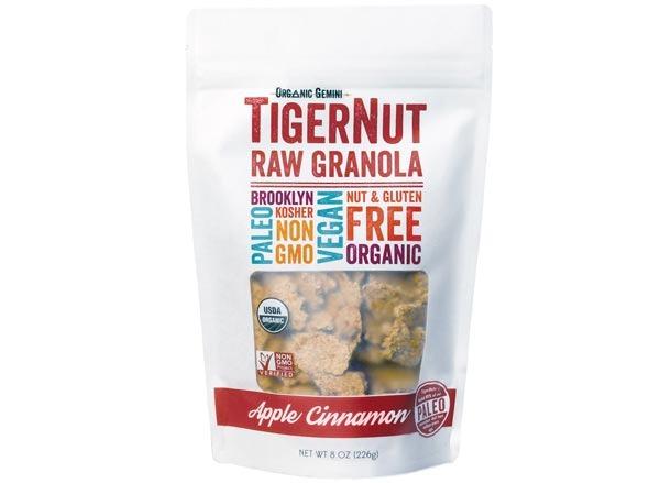 tigernut raw apple cinnamon granola