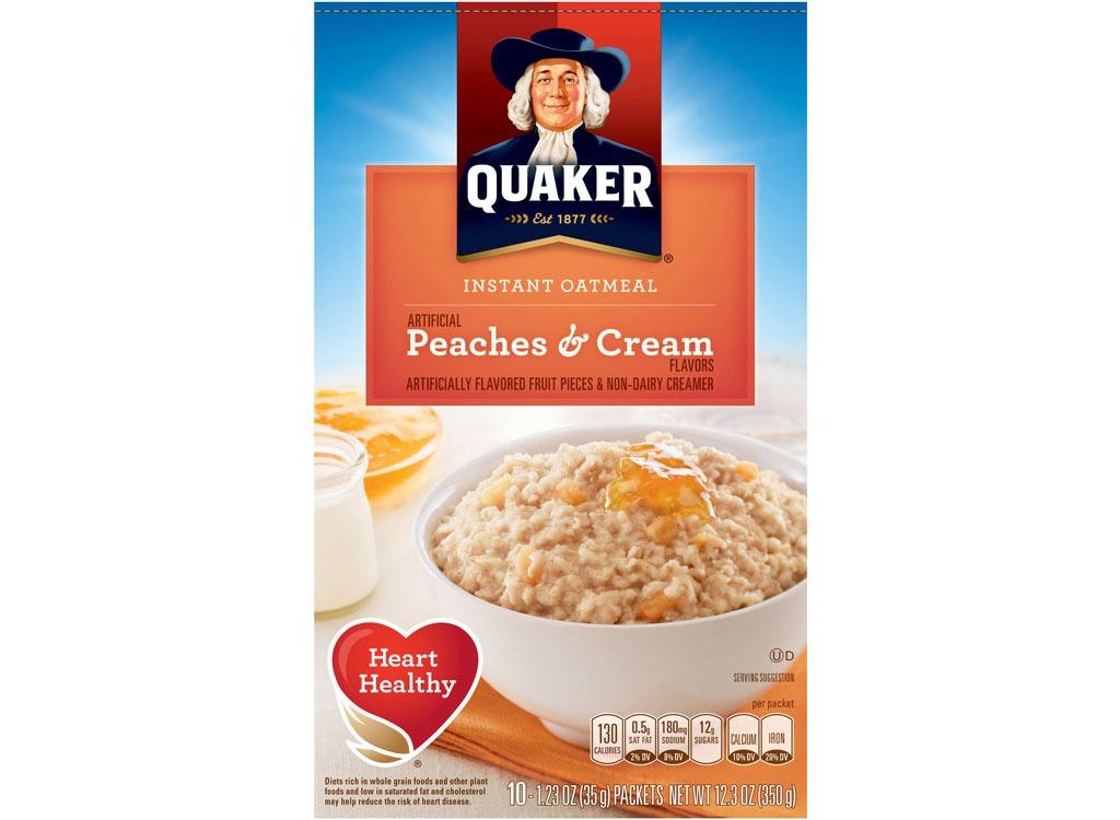 quaker peachescream