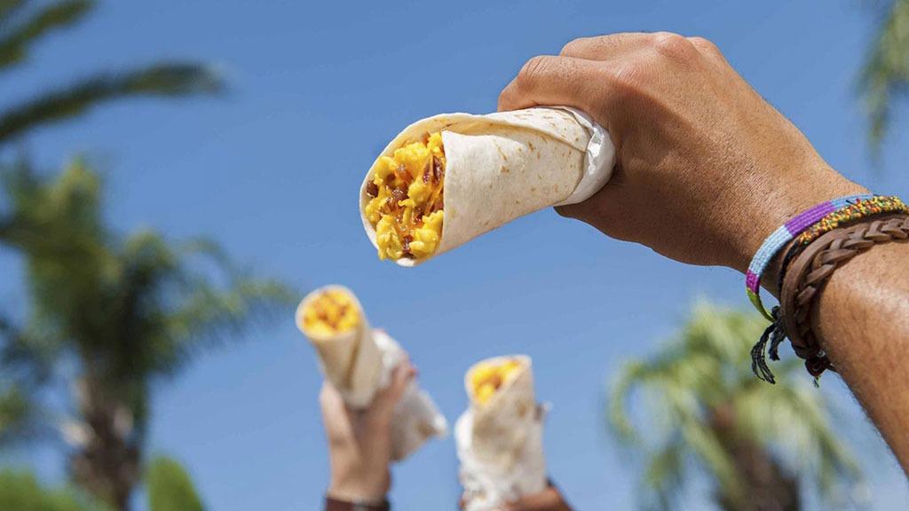 Taco Bell Cheesy Burrito