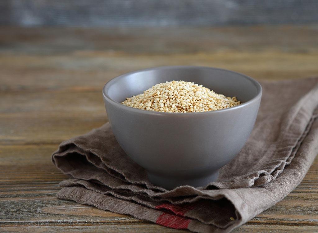 Sesame seeds - calcium rich foods
