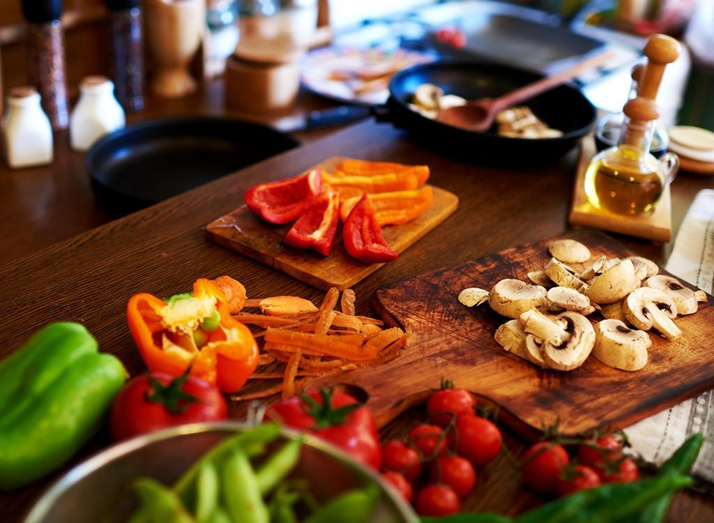 cooking ingredient veggies