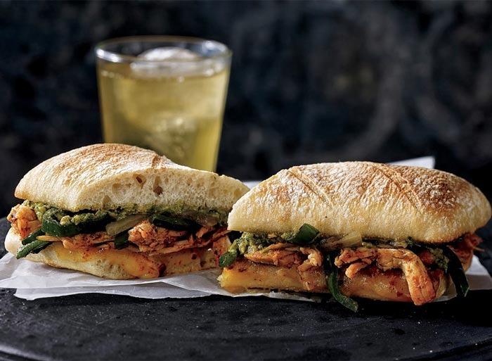 Ancho chipotle panini