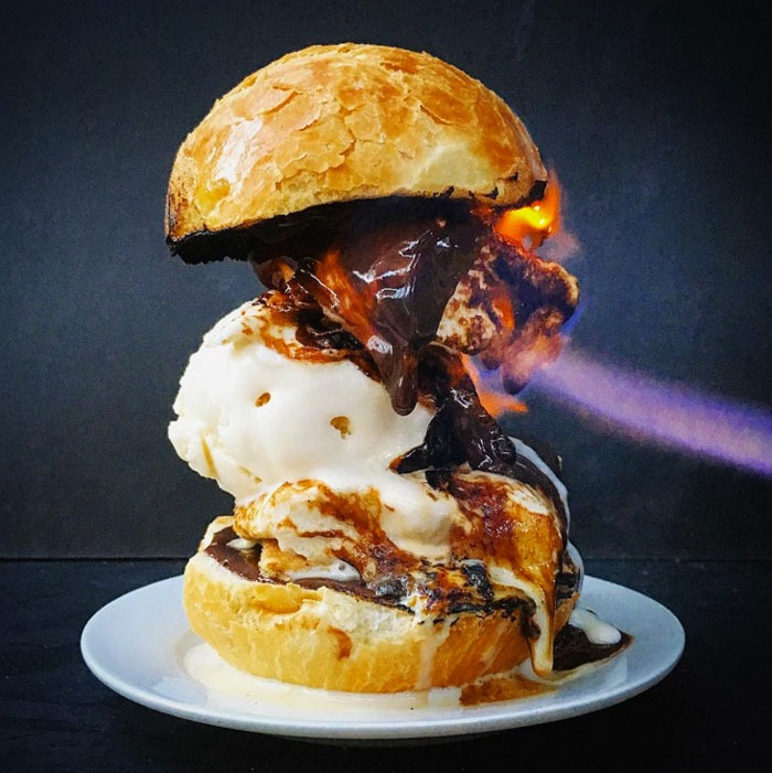 Worst social food trends smores burger