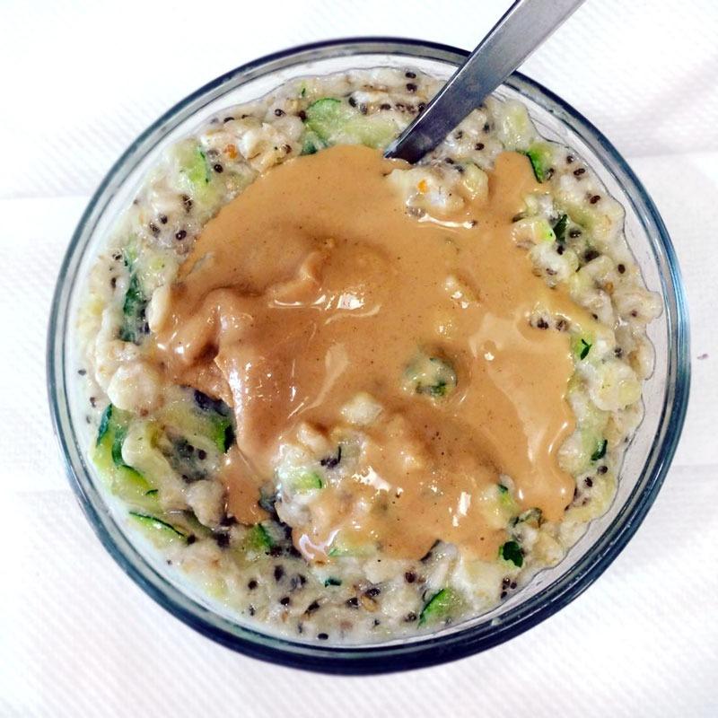 Savory oatmeal jesscording