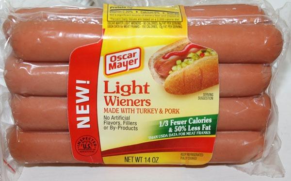 ETNT Super Bowl Oscar Mayer Light Wieners