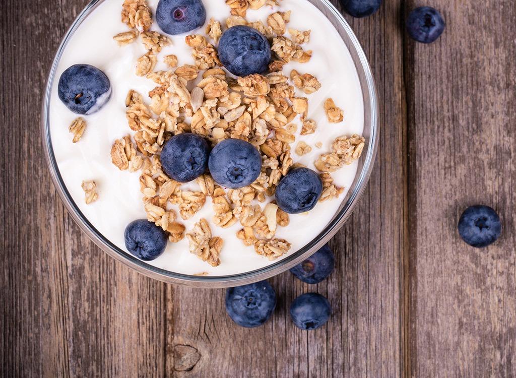best hangover cure foods - greek yogurt
