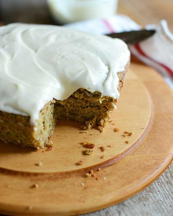 gluten-free zucchini cake