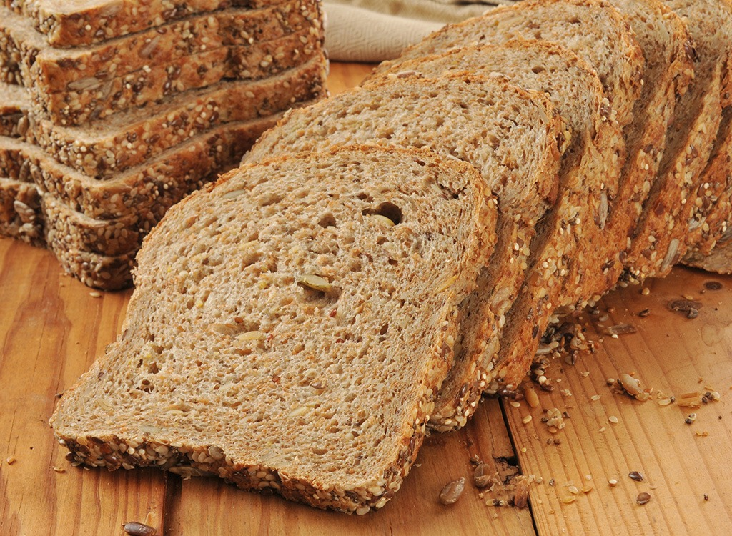 Sprouted grain bread - best foods for gut health