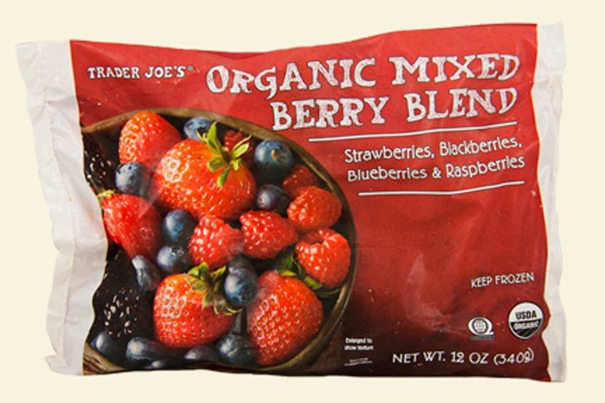 trader joes organic mixed berry blend - best trader joe's frozen meals