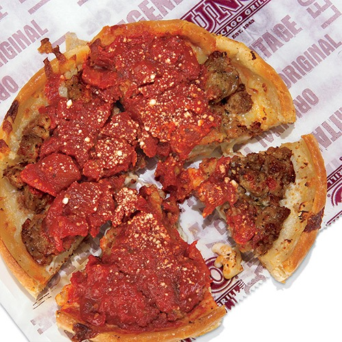 uno deep dish chicago style pizza