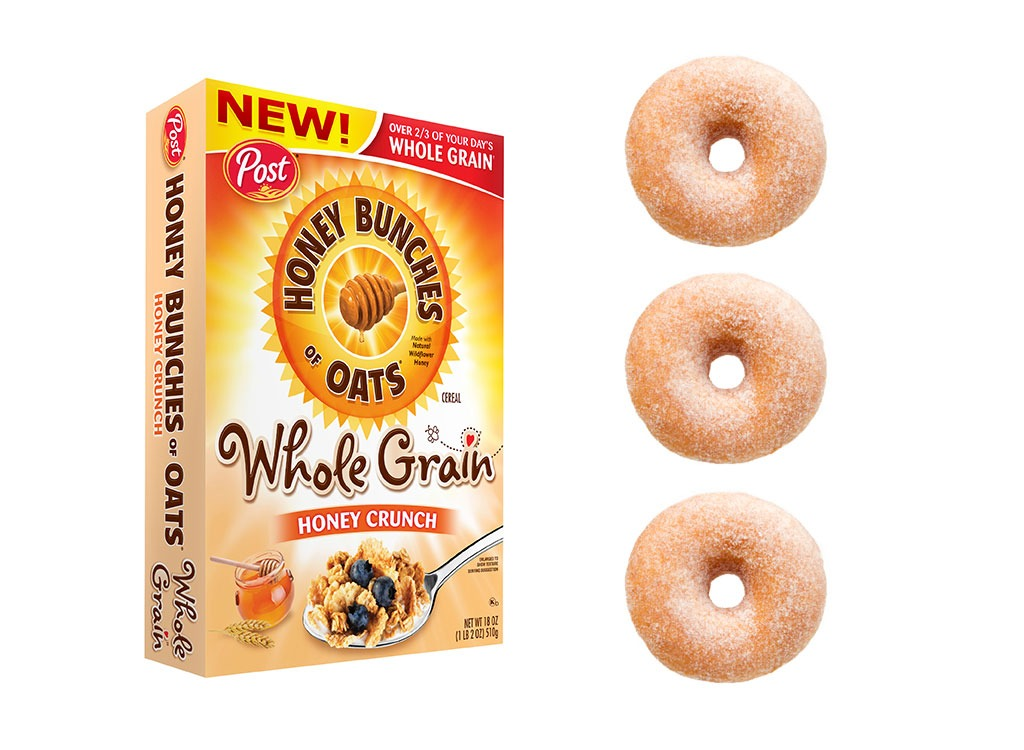 Foods worse than donut honey bunches of oats