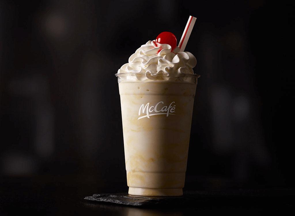 McDonald's Vanilla Milkshake