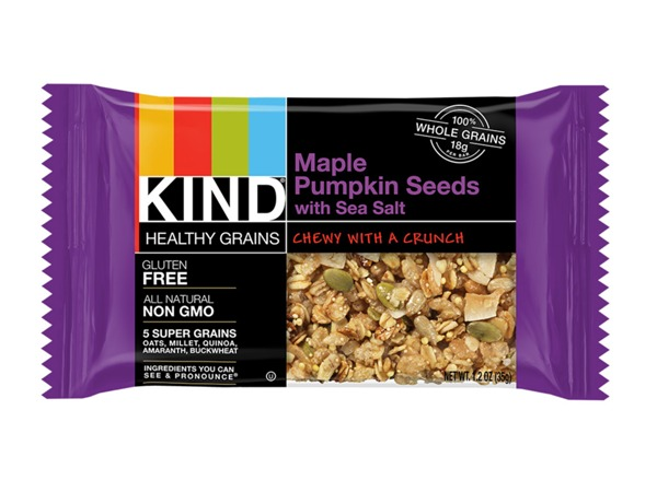 best foods for netflix and chill - kind maple pumpkin seeds bar