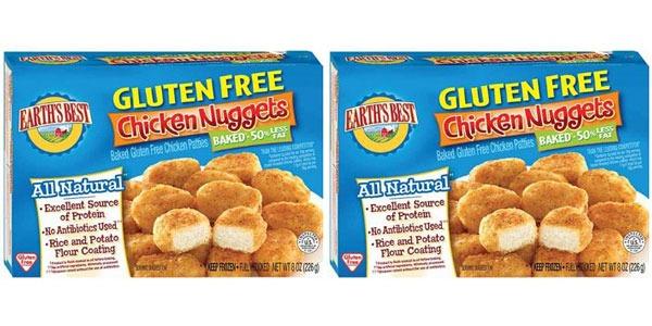 Earths Best Baked Gluten Free Chicken Nuggets
