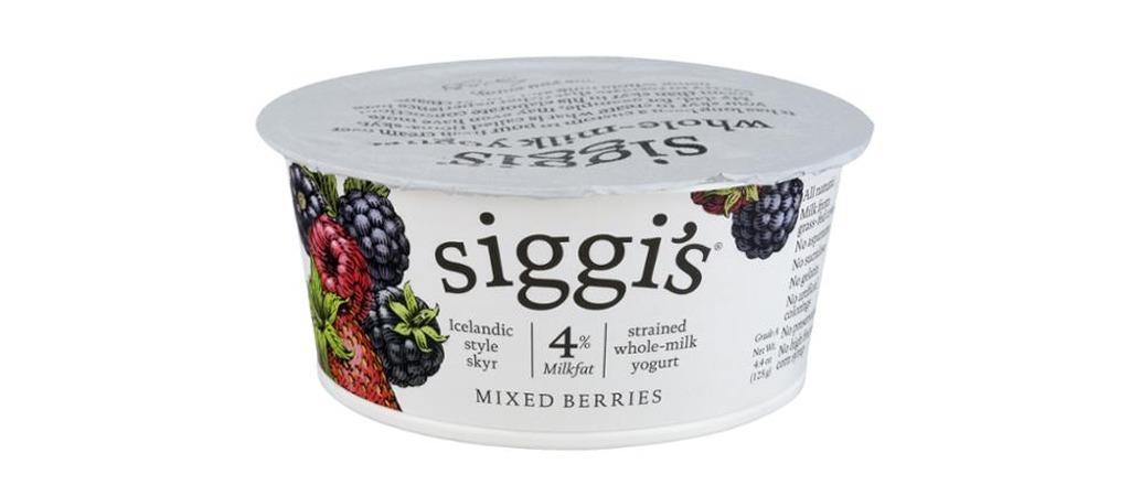 Siggis 4% yogurt