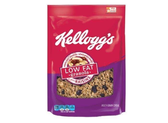 kellogs low fat granola