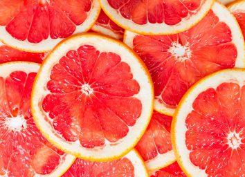 Grapefruit slices