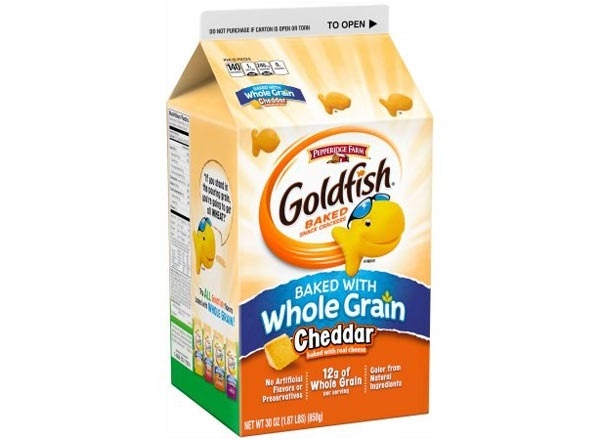 pepperidge farm goldfish  whole grain cheddar