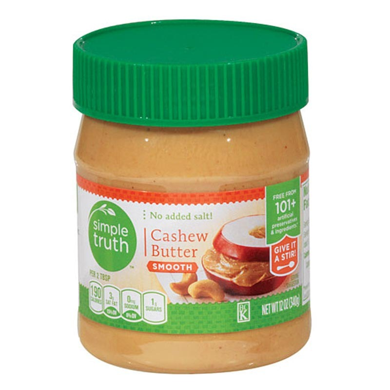 simple truth cashew butter smooth