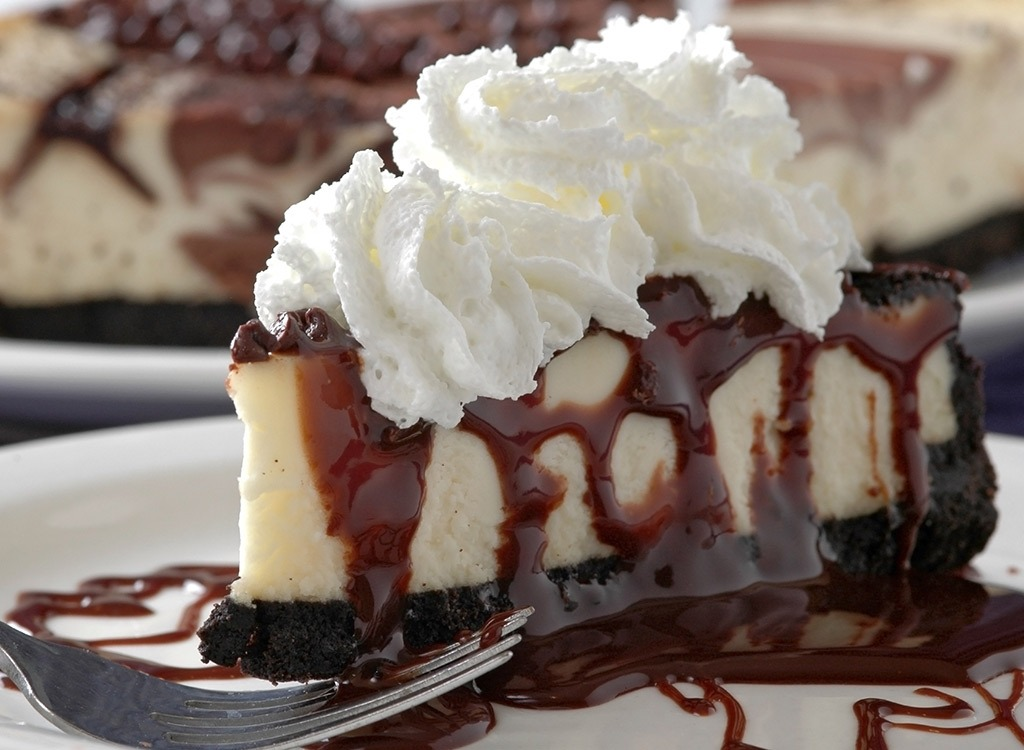 Holiday foods cheesecake