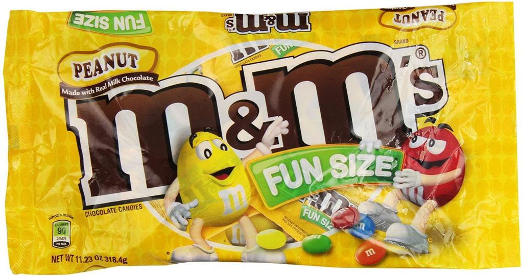 M&Ms Peanut Fun Size