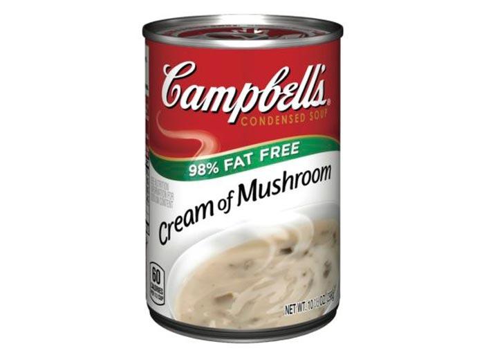 campbells low fat cream mushroom soup