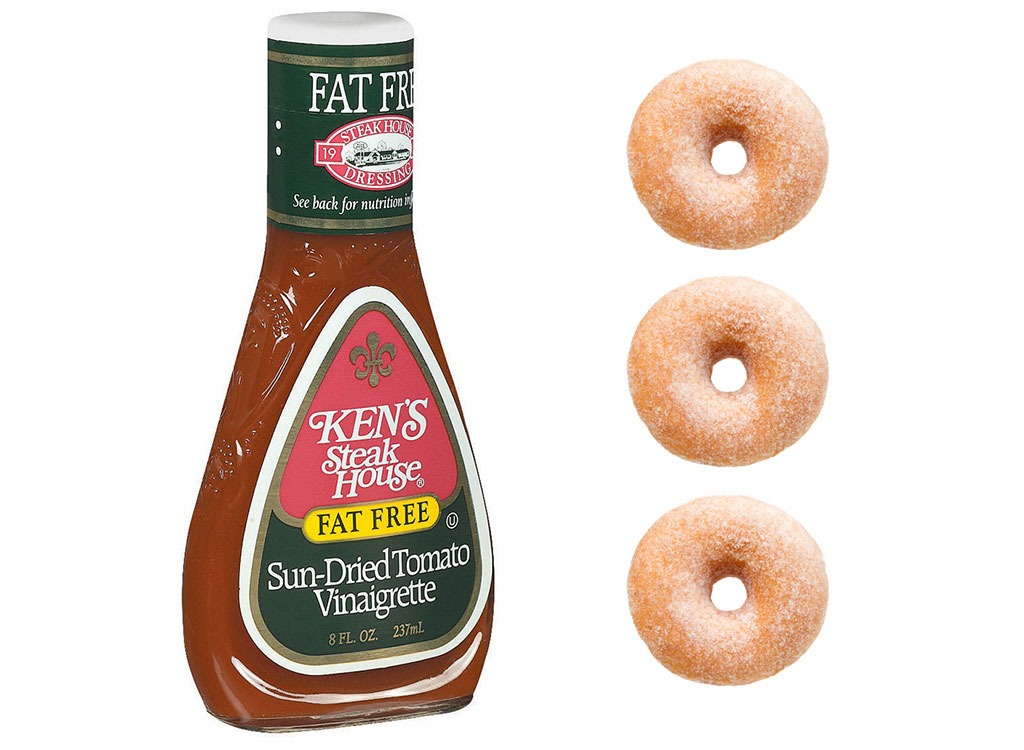 Foods worse than donut salad dressing