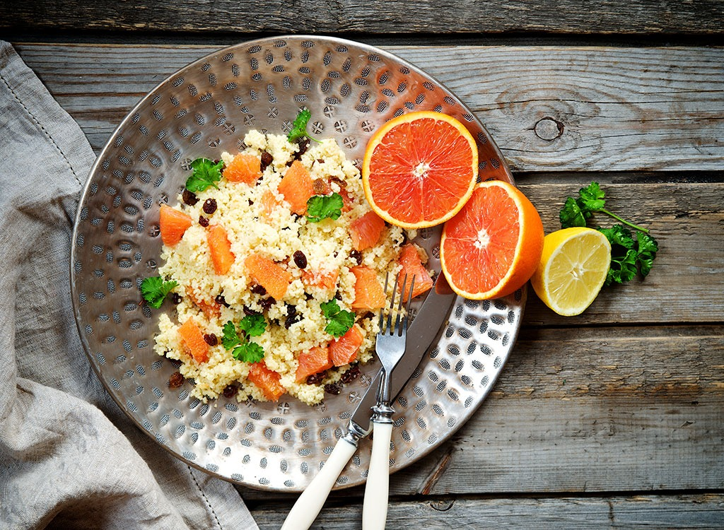 citrus & turkey couscous