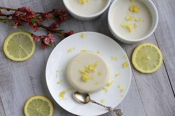 09. Lemon Panna Cotta
