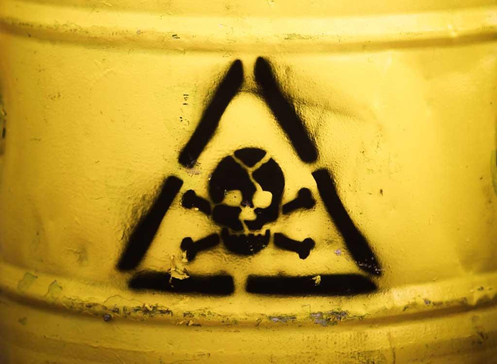 toxic chemical danger