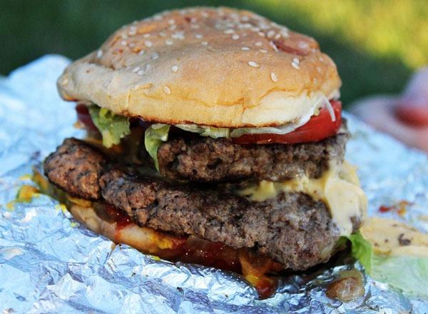 Fast food burgers ranked Five Guys Hamburger