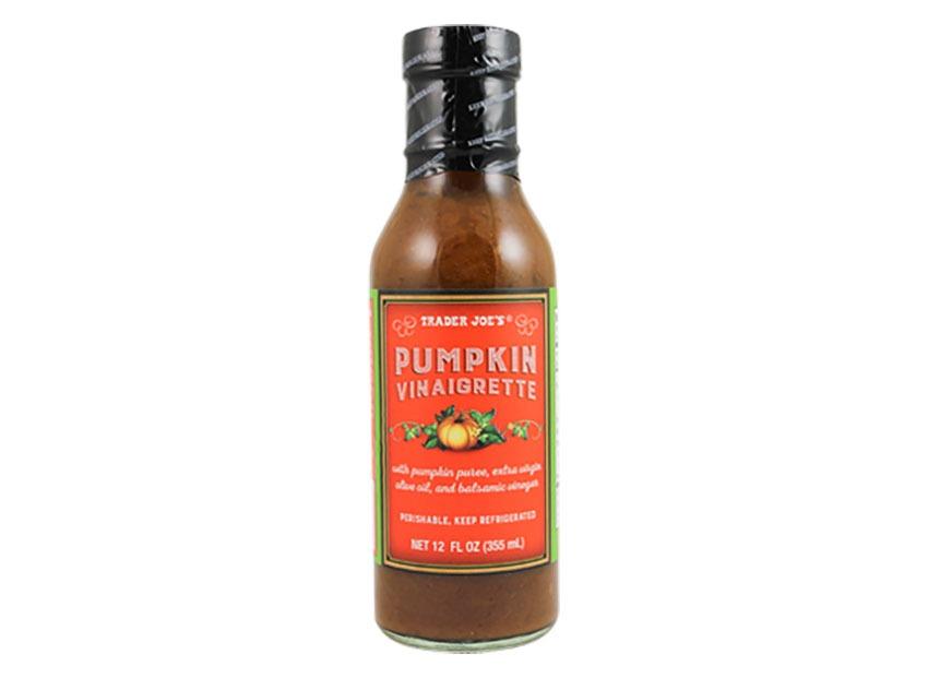 trader joes pumpkin vinaigrette bottle