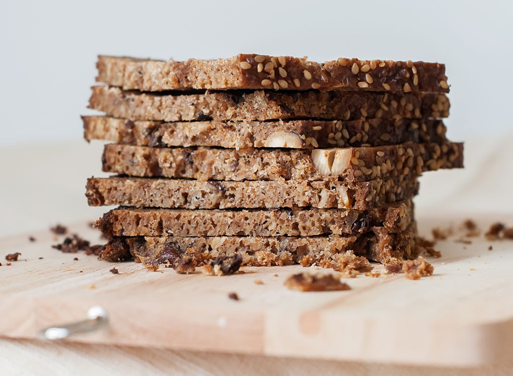 Sprouted whole grain bread