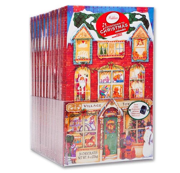 MADELAINE CHOCOLATE COUNTDOWN TO CHRISTMAS CALENDAR