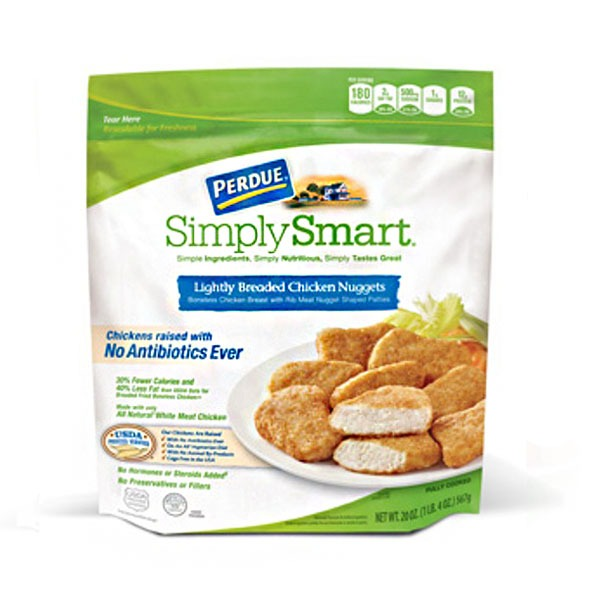 Perdue Simply Smart Lightly Breaded Chicken Nuggets