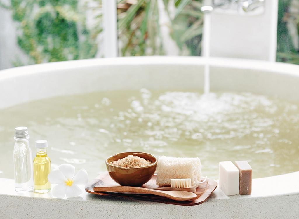 spa bath relax