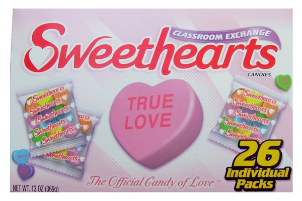 Valentines Candy Ranked sweethearts