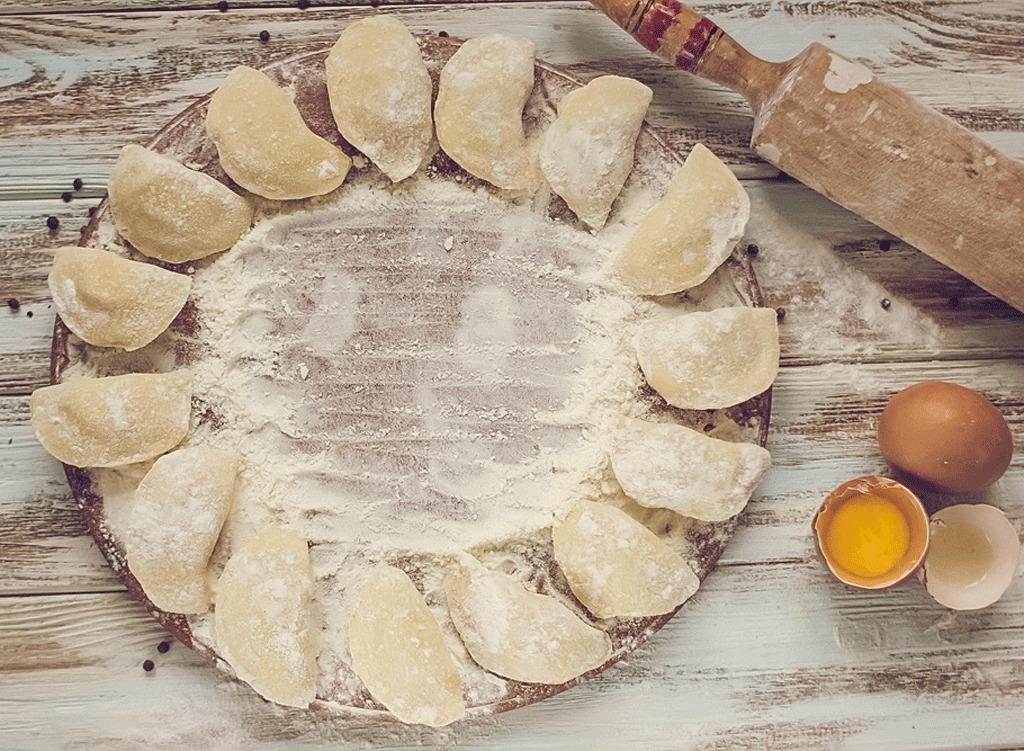 perogi style dumpling