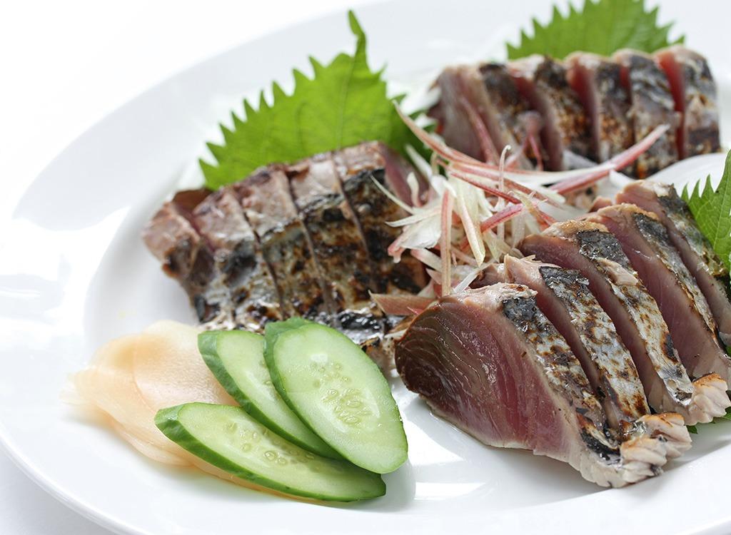 Fish ranked Skipjack Tuna