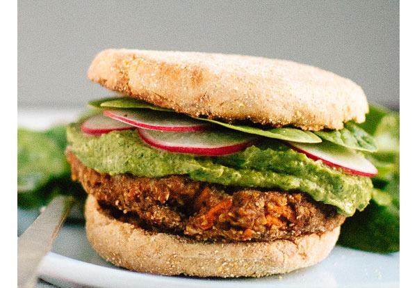 Surprising Chickpea Recipes Lentil Chickpea Veggie Burgers