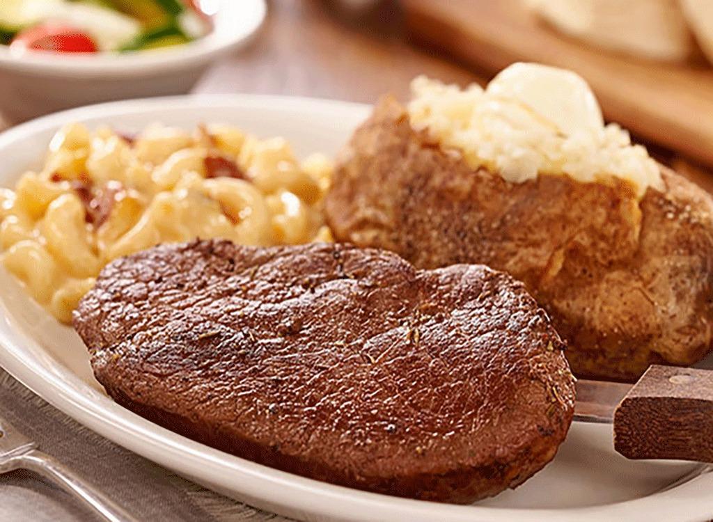 grilled sirloin steak