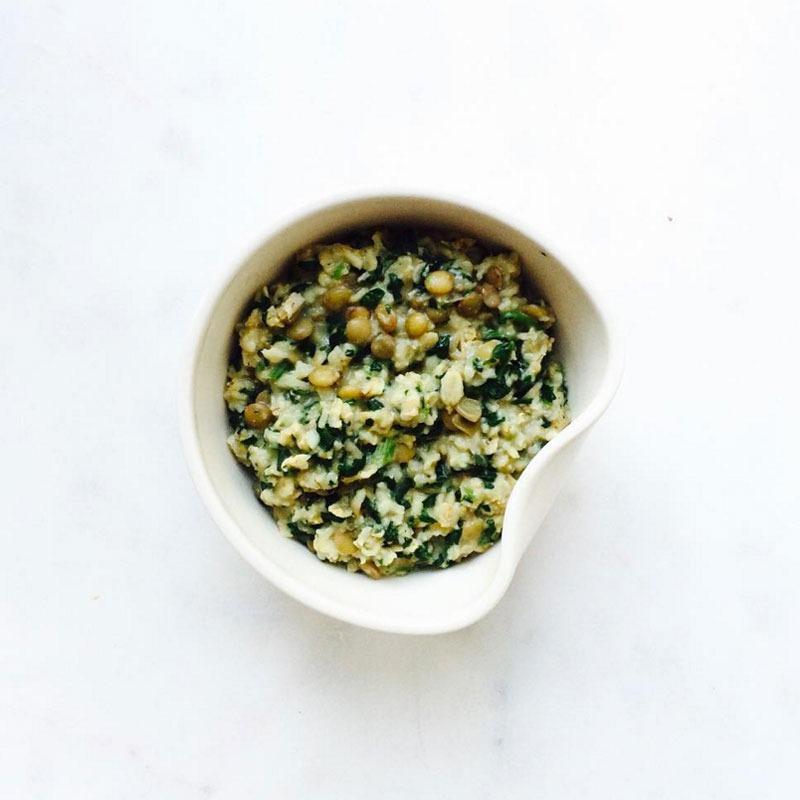 Savory oatmeal thefullhelping