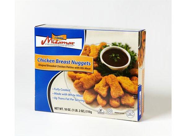 Midamar Halal Chicken Breast Nuggets