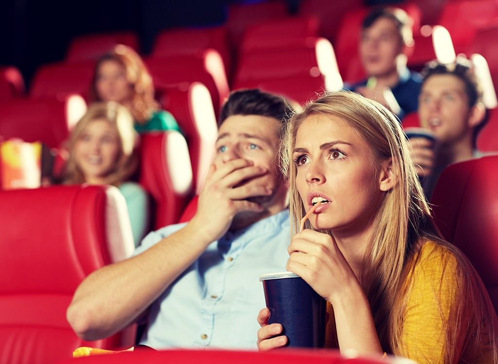 scared drinking soda movies