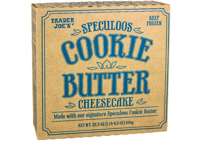 trader joes speculoos cookie butter cheesecake - best trader joe's frozen meals