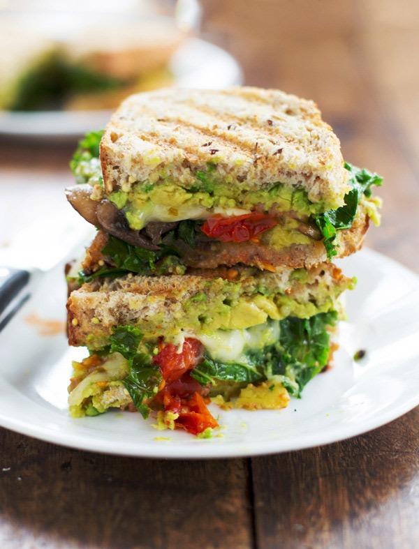 veggie panini