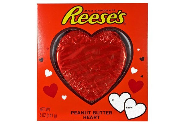 Valentines Candy Ranked Reeses Heart