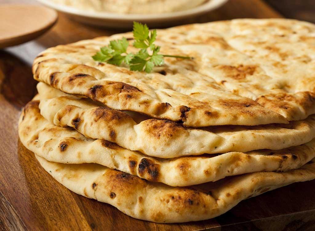 roti naan whole wheat