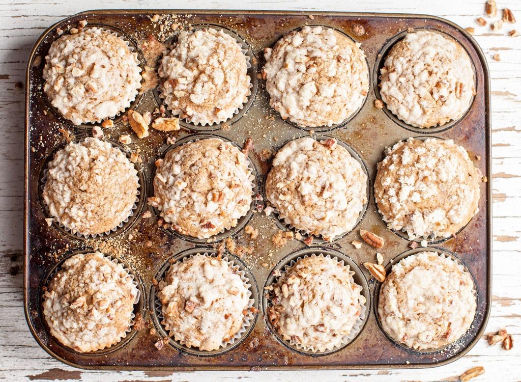 Frozen Oatmeal Cups muffin tin